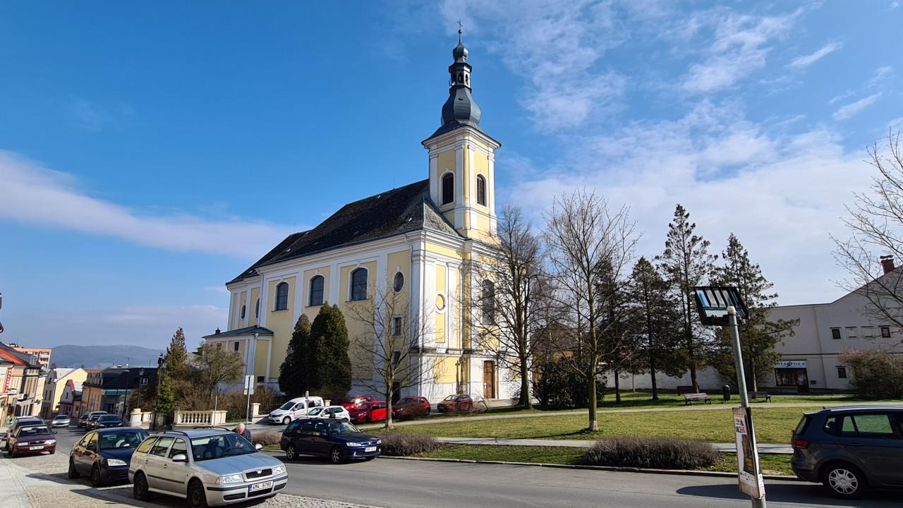 Přímé přenosy bohoslužeb Svatého týdne ze zábřežského kostela sv. Bartoloměje